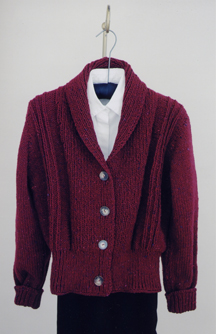 Bulky Shawl Collar Sweater