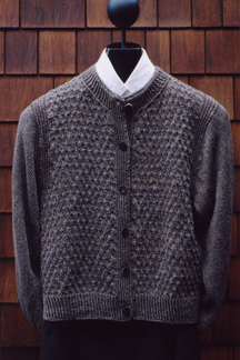 Mock Honeycomb Jacket