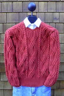 Winding Cables Pullover