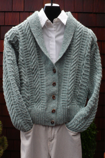 Fisherman Shawl Collar