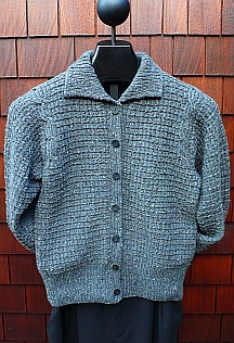 Cable Inset Cardigan